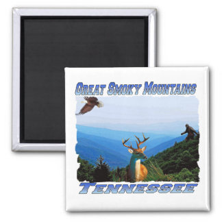 GreatSmokeyMountainsTennessee Magnet or Coaster