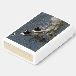 Grebe Birds Baby Lake Wildlife Zippo Lighter