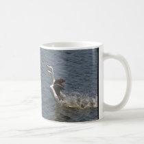 Grebe Birds Dance Wildlife Animals Mug