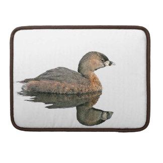 Grebe Birds Wildlife Animals Photography Sleeve For MacBook Pro