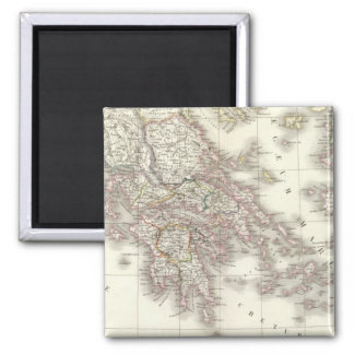 Grece ancienne - Ancient Greece 2 Inch Square Magnet