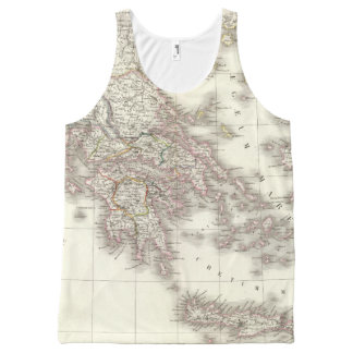 Grece ancienne - Ancient Greece All-Over Print Tank Top