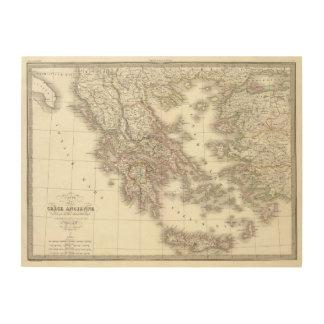 Grece ancienne - Ancient Greece Wood Wall Decor