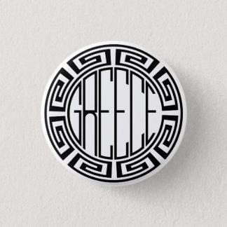 Grece - round pattern button
