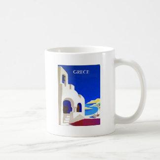 grece vintage coffee mug