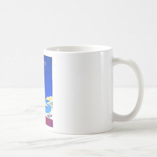 grece vintage coffee mugs