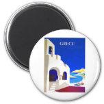 grece vintage fridge magnets