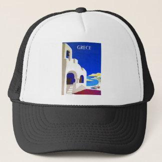 grece vintage trucker hat