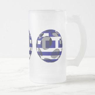 Grecia #1 taza de cristal