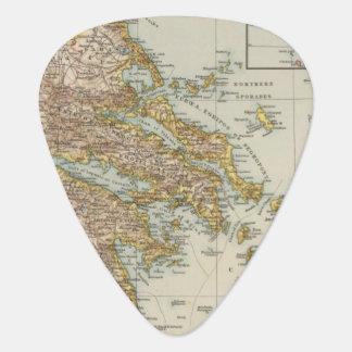 Grecia 4 uñeta de guitarra