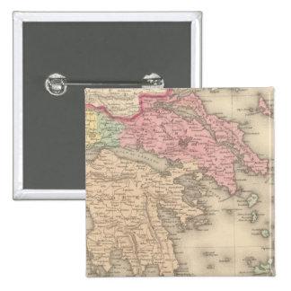 Grecia 5 pin cuadrada 5 cm