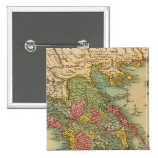 Grecia 8 pin cuadrado