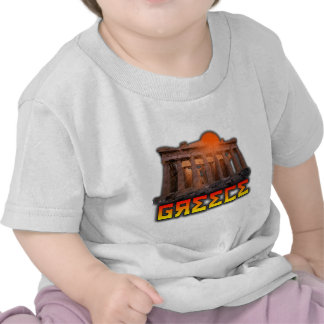 Grecia - acrópolis camiseta