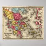 Grecia antigua 2 póster