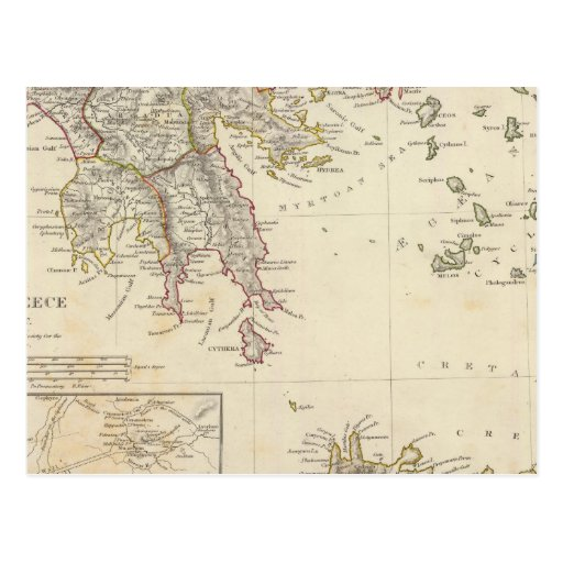 Grecia antigua, meridional postal