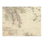 Grecia antigua, meridional tarjetas postales