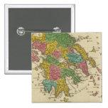 Grecia Antiqua 2 Inch Square Button