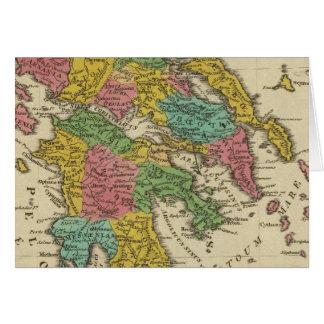 Grecia Antiqua Greeting Card
