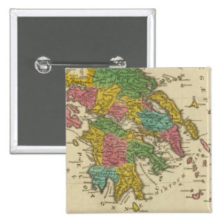 Grecia Antiqua Pinback Button