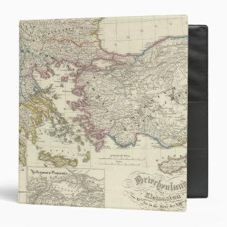 """Grecia, Asia Menor Carpeta 1 1/2"""""""