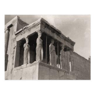 Grecia, Atenas, acrópolis, Parthenon Tarjeta Postal