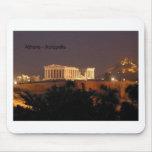 Grecia - Atenas - acrópolis (por St.K) Alfombrilla De Raton