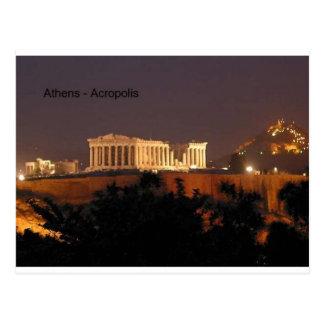 Grecia - Atenas - acrópolis (por St.K) Tarjetas Postales