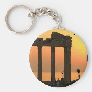 Grecia Atenas (nueva) (St.K) Llavero Redondo Tipo Pin