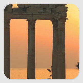 Grecia Atenas (nueva) (St.K) Pegatina Cuadrada