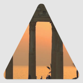 Grecia Atenas (nueva) (St.K) Pegatina Triangular