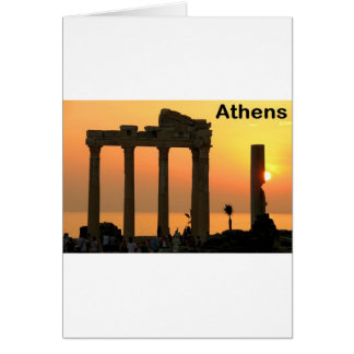 Grecia Atenas (nueva) (St.K) Tarjeta De Felicitación