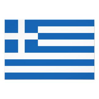 Grecia - bandera griega arte fotográfico