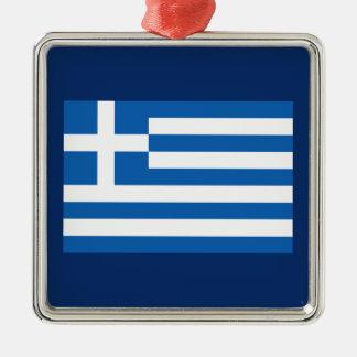 Grecia - bandera nacional griega ornamento de reyes magos