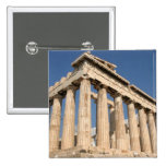 GRECIA: Botón del pinback del Parthenon Pin