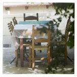GRECIA, CRETA, provincia de Hania, Vamos: Tabla de Azulejo