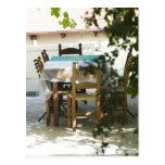 GRECIA, CRETA, provincia de Hania, Vamos: Tabla de Tarjeta Postal