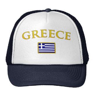Grecia de oro gorro