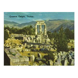 Grecia, Delphi, Tholos Postales