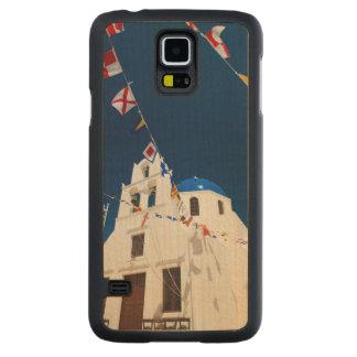 Grecia e isla griega de la ciudad de Santorini de Funda De Galaxy S5 Slim Arce