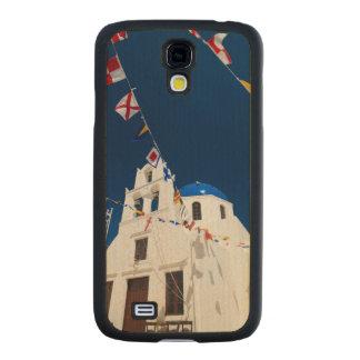 Grecia e isla griega de la ciudad de Santorini de Funda De Galaxy S4 Slim Arce