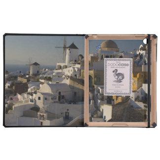 Grecia e isla griega de la ciudad de Santorini de  iPad Protector