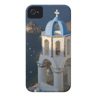 Grecia e isla griega de la ciudad de Santorini de  iPhone 4 Case-Mate Cárcasas