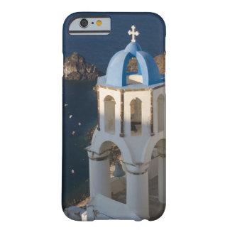 Grecia e isla griega de la ciudad de Santorini de Funda De iPhone 6 Barely There