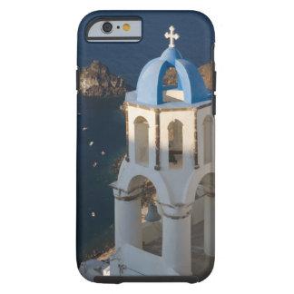 Grecia e isla griega de la ciudad de Santorini de Funda De iPhone 6 Tough
