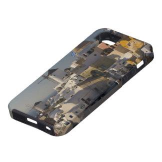 Grecia e isla griega de la ciudad de Santorini de  iPhone 5 Case-Mate Protectores