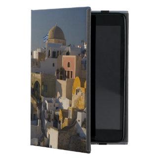 Grecia e isla griega de la ciudad de Santorini de  iPad Mini Funda