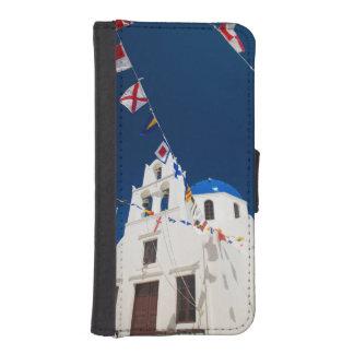 Grecia e isla griega de la ciudad de Santorini de  Cartera Para iPhone 5