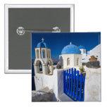 Grecia e isla griega de la ciudad de Santorini de  Pins