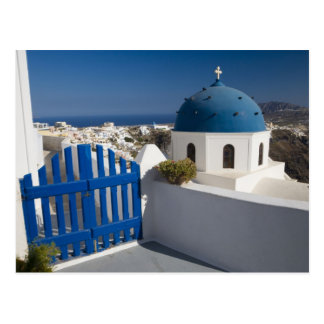 Grecia e isla griega de Santorini del Postales