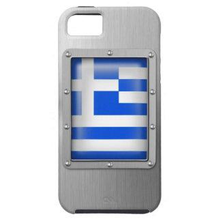 Grecia en acero inoxidable funda para iPhone SE/5/5s